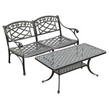 Sedona 2 Piece Seating Group in Charcoal Black