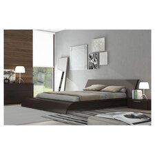 Waverly Platform Bed in Wenge