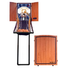 Fold-A-Hoop Basketball Game in Medium Oak