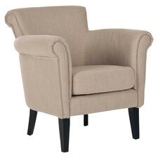 Luca Arm Chair in Beige