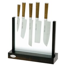 Cork 6 Piece Knife Block Set
