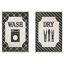 Wash & Dry Plaque Set