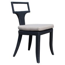 Rodeo Stacking Side Chair in Black