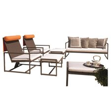 Malibu 6 Piece Seating Group in Chocolate