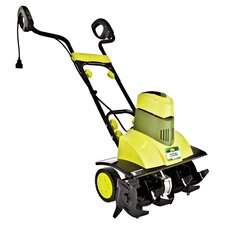 9 Amp Electric Tiller & Cultivator in Lime Green