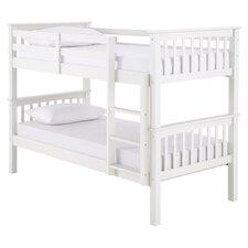 Novaro Single Convertible Bunk Bed in White