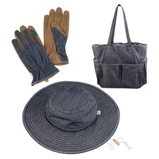 3 Piece Gardening Set in Navy