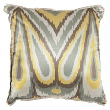 Keri Throw Pillow in Yellow