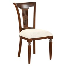 Vanessa Side Chair in Mahogany