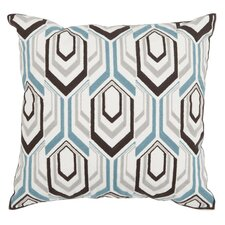 Indie Throw Pillow in Brown & Gray