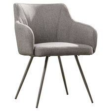 Soft Modern Occasional Chair in Soft Grey