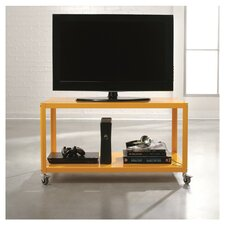 "Soft Modern 36"" TV Stand in Yellow Saffron"