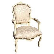 Iris Arm Chair in Ivory