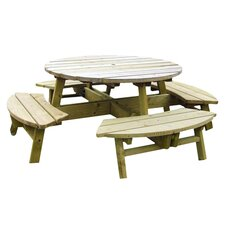Rose Picnic Table in Natural