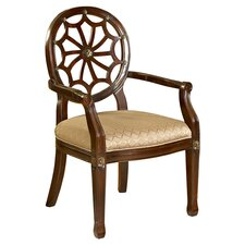 Spider Web Arm Chair in Mahogany