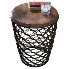 Arabesque End Table in Black