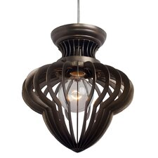 Clout 1 Light Mini Pendant in Bronze