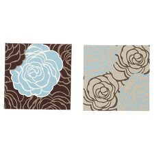 Avalanche Roses Fabric Wall Art