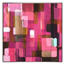 Modern Living Modular Tiles IV Framed Wall Art