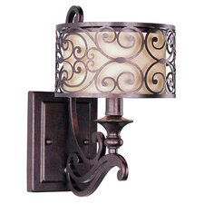 Venice 1 Light Wall Sconce in Bronze