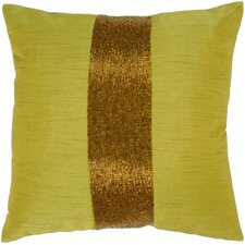 Contoy Pillow in Green & Copper