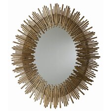 Prescott Iron Mirror in Antique Gold