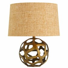 Ennis Table Lamp in Burnt Brass