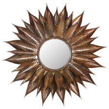 Sunflower Mirror in Copper
