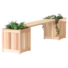 Planter Bench in Natural