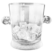 Prescott Glass Ice Bucket in Frost