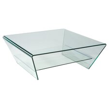 Tocca Coffee Table in Clear