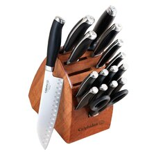 Calphalon Contemporary 17 Piece Knife Block Set in Natural