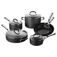 Calphalon Stanley 10 Piece Nonstick Cookware Set in Black