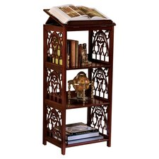 St. Thomas Aquinas Gothic Wooden Bookstand in Walnut