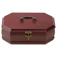 Cherish Treasure Box in Rich Rosewood