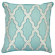 Annie Accent Pillow in Turquoise