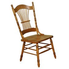 Burnished Sheaf Side Chair in Oak