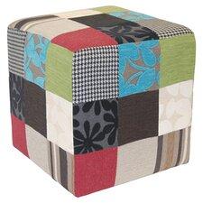 Patchwork Cube Ottoman