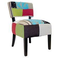 Patchwork Slipper Chair