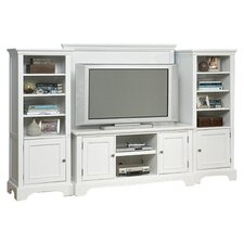 Naples Entertainment Center in White