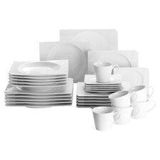 Estelle 30 Piece Dinnerware Set in Ivory