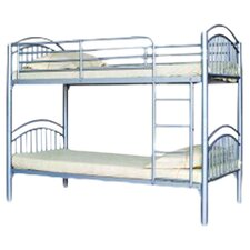 Lynton Bunk Bed in Silver