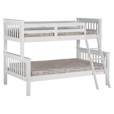 Neptune Triple Sleeper Bunk Bed in White