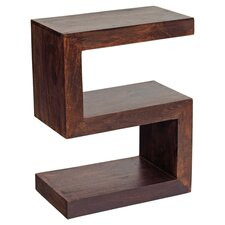 Mango Toko Side Table in Dark Walnut