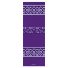 Premium Taos Alignment Printed Yoga Mat in Purple