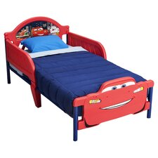 Disney Cars Convertible Toddler Bed in Red