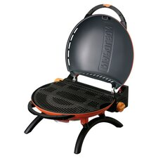 Travel Q Portable Propane Grill in Orange