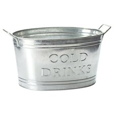 Kindwer Cold Drinks Oval Tub in  Galvinize Steel