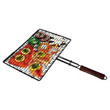 Non-Stick Flexible Grilling Basket in Black