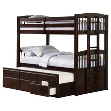 Chester Twin Bunk Bed in Cappuccino